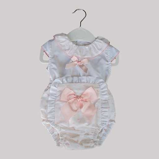Babylis Babylis Girls 2 Piece with Bow Detail