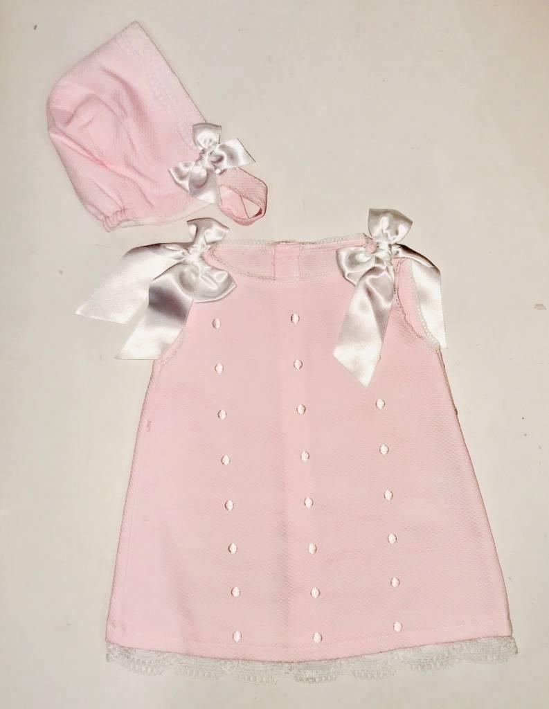 Babylis Babylis Girls Dress with Shoulder Bows