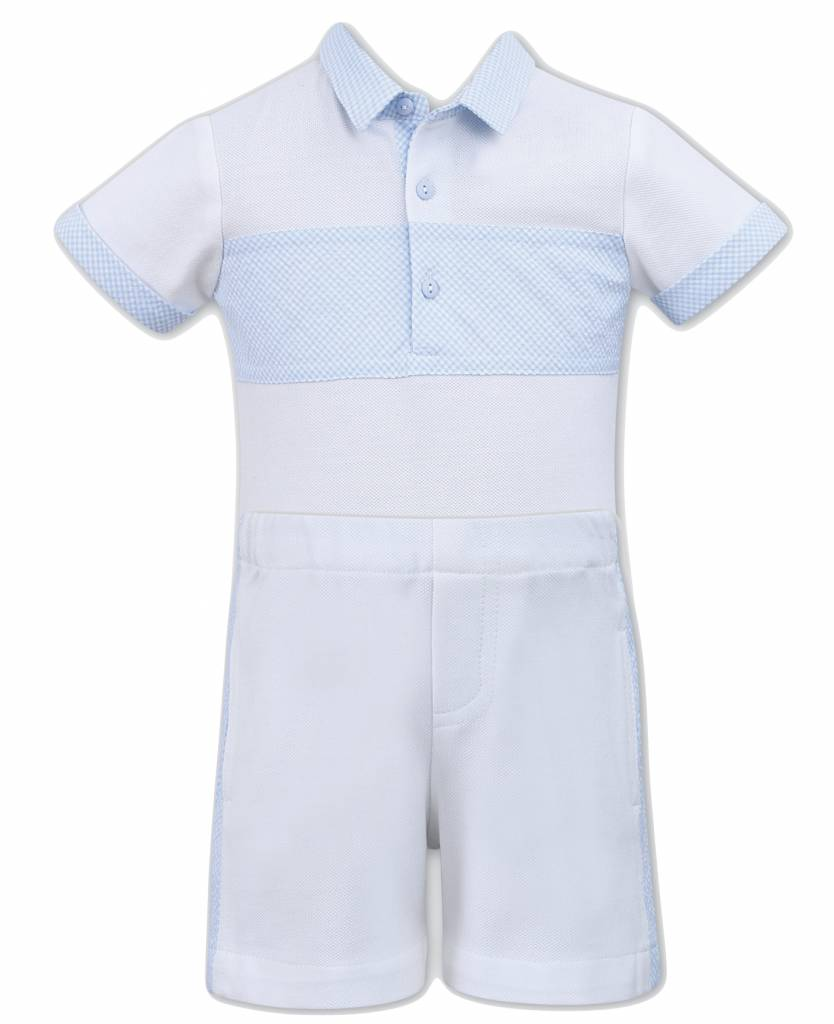 Dani Dani Boys Shorts & Top with Collar