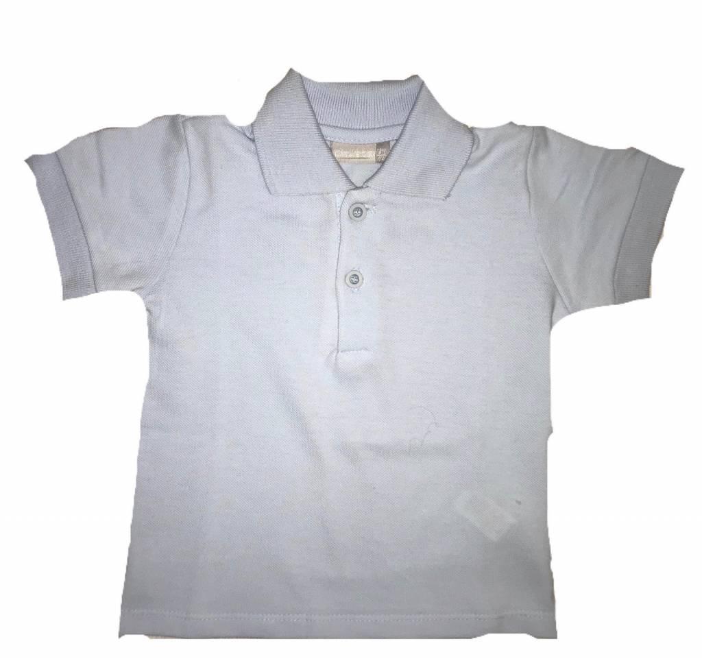 Piruleta Piruleta Pale Blue Polo Shirt