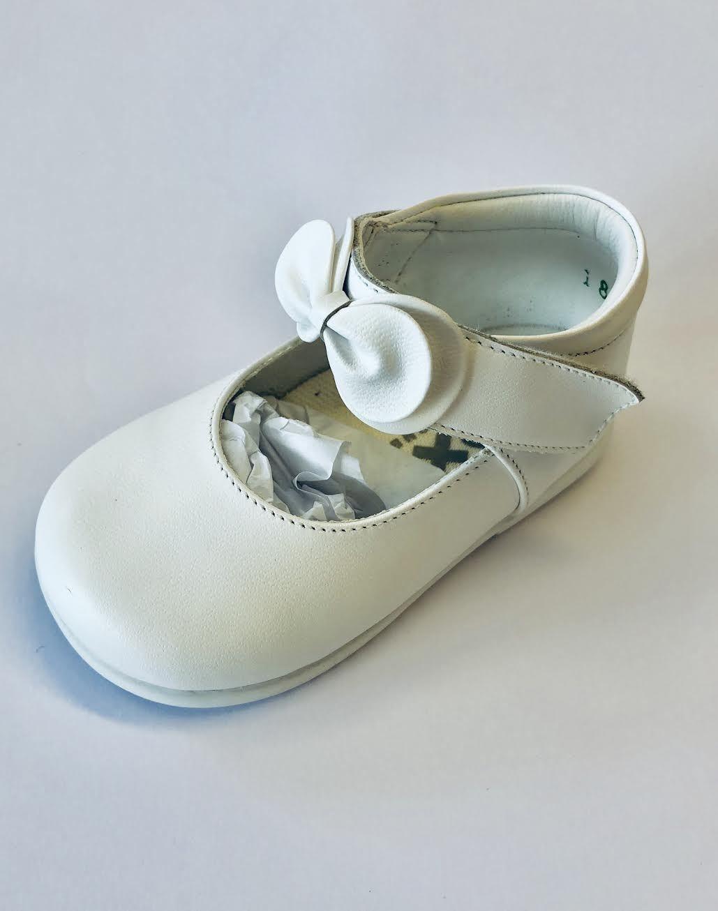 Pex Pex White Mimi Leather Shoe