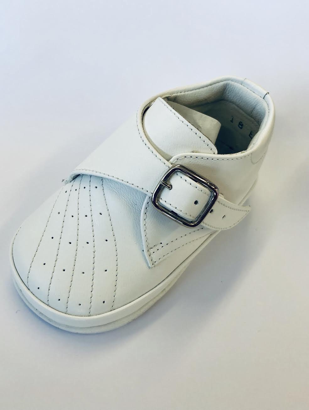 Pex Pex White Simon Leather Shoe
