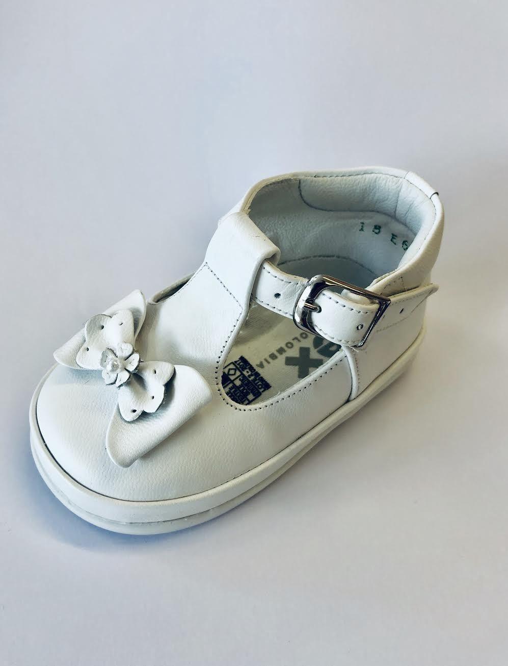 Pex Pex White Rebecca Leather Shoe