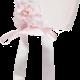 Piccola Speranza Piccola Speranza Pink Baby Bonnet