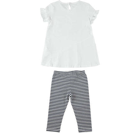 Ido Ido Maxi shirt with bicycle and leggings outfit