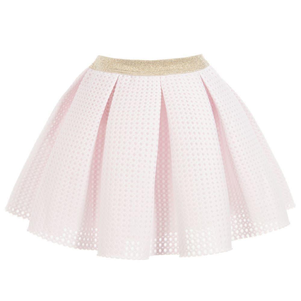 Lili Gaufrette LILI GAUFRETTE Pink Skirt