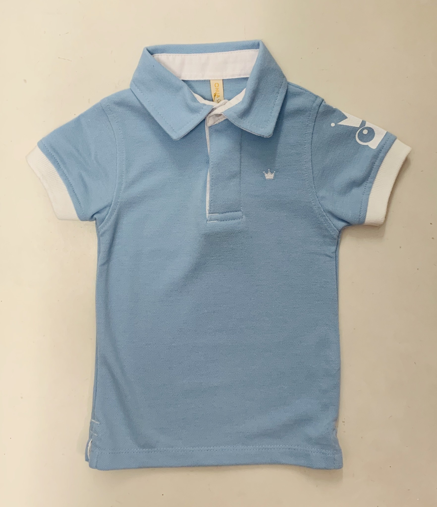 Chua Chua Boys Polo Top with Logo