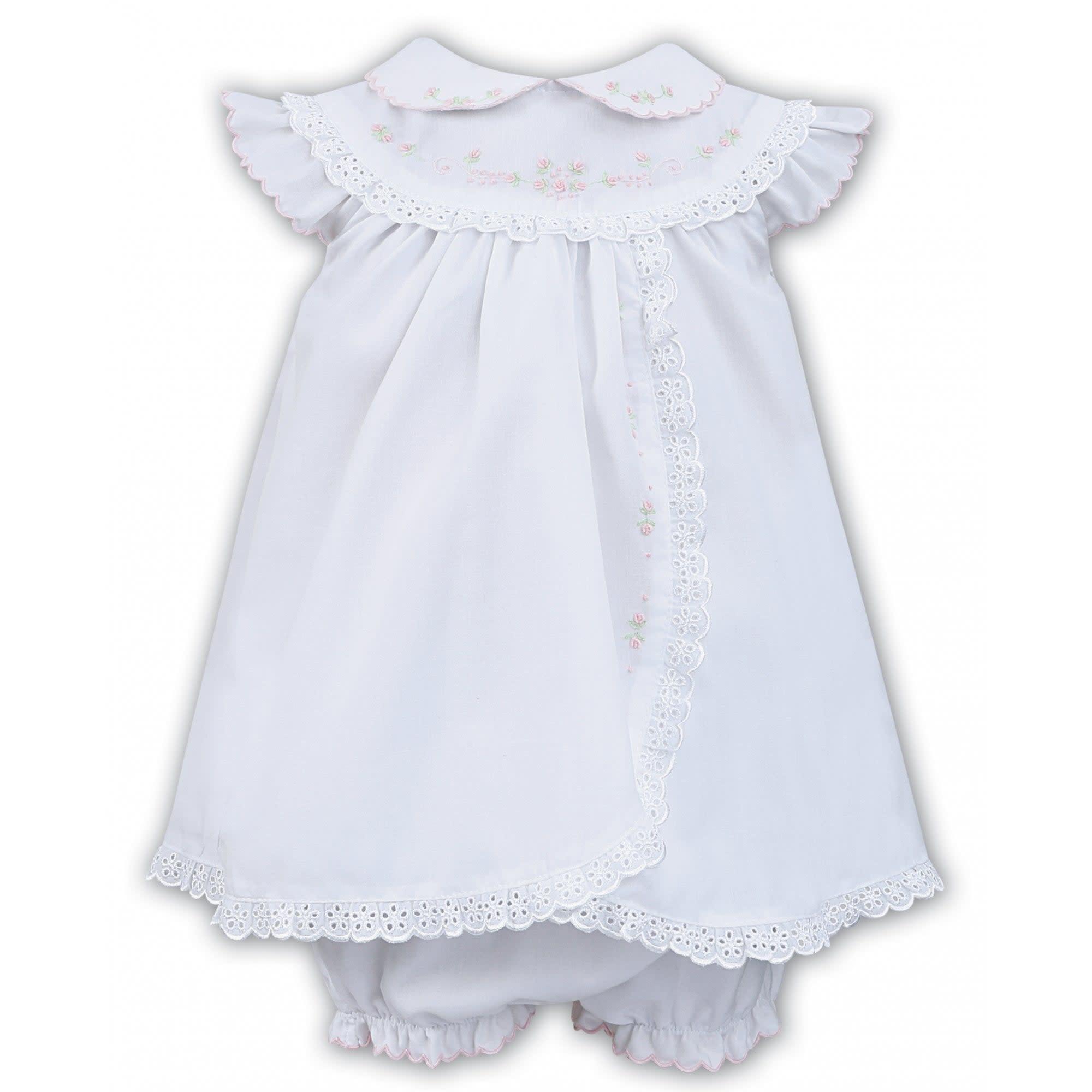 Sarah Louise Sarah Louise 011457 White Dress & Pants Set