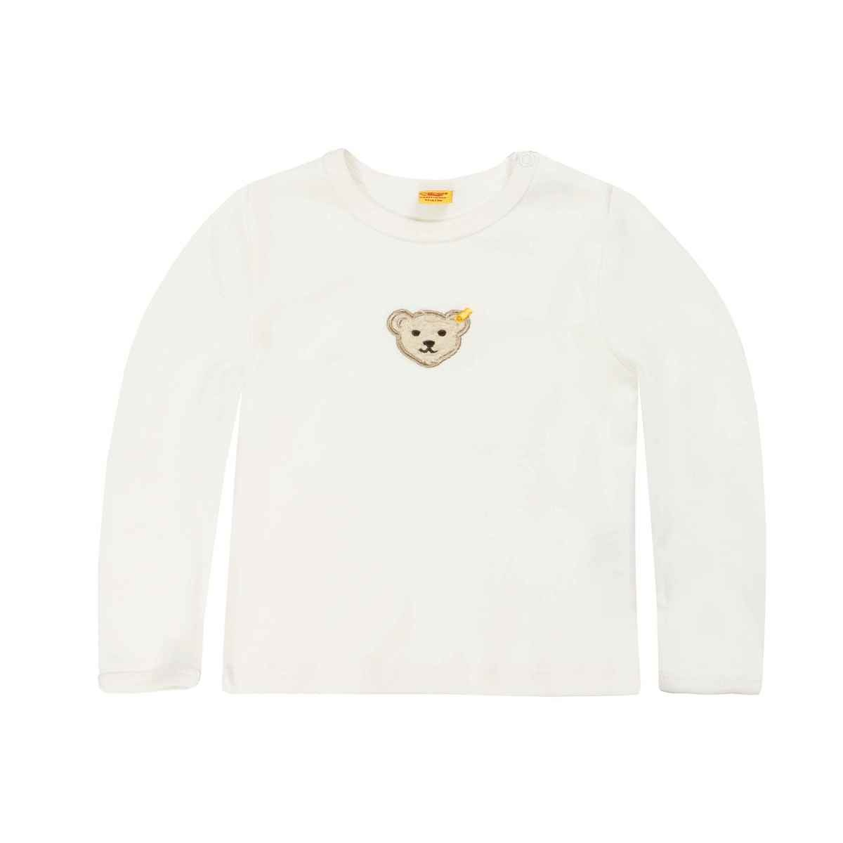 Steiff Steiff White T-shirt With Teddy Motif