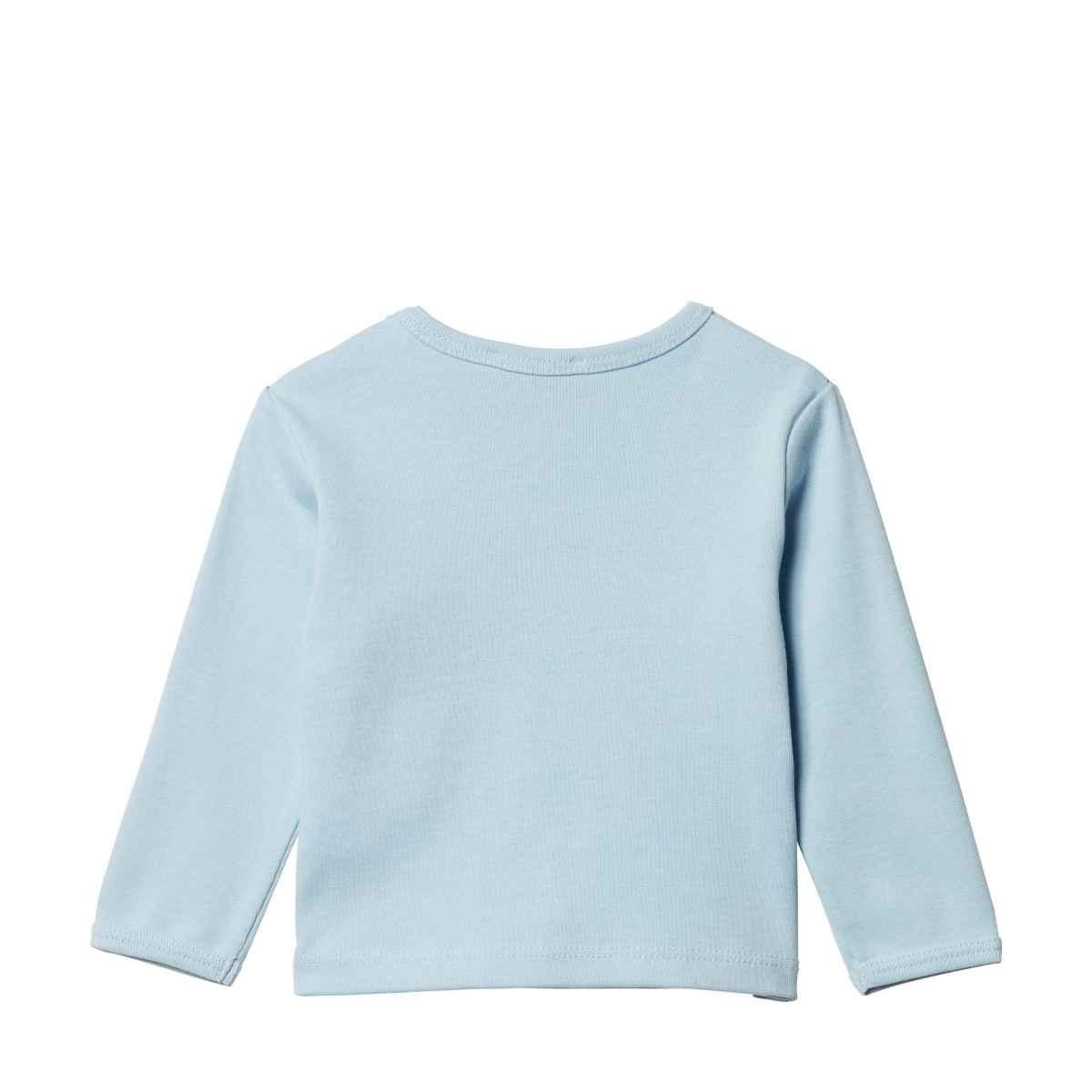 Steiff Steiff Blue T-Shirt with Teddy Motif