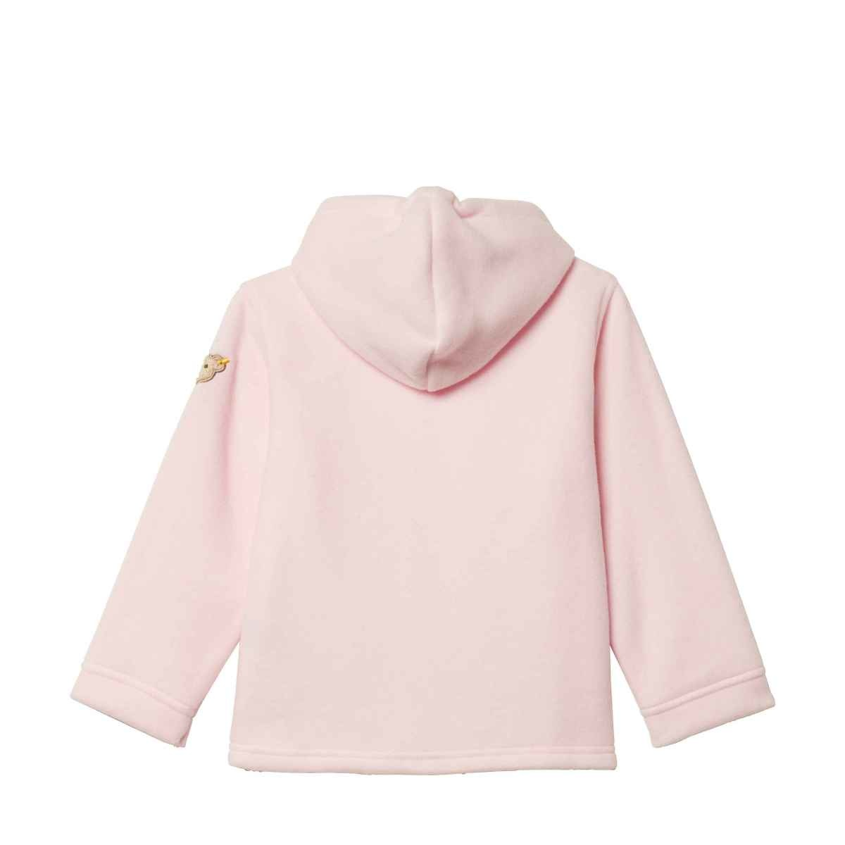 Steiff Steiff Pink Fleece zipper Jacket