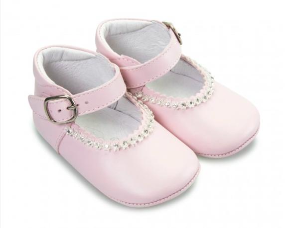 Borboleta Borboleta Gabriela Pink Pram Shoes