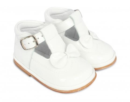 Fofito Fofito Adriana White Patent Shoes