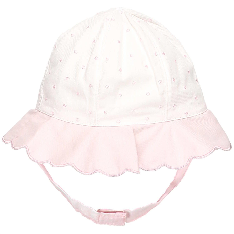 Emile et Rose EMILIE ET ROSE 9296 Peyton Spot Baby Girls Sun Hat