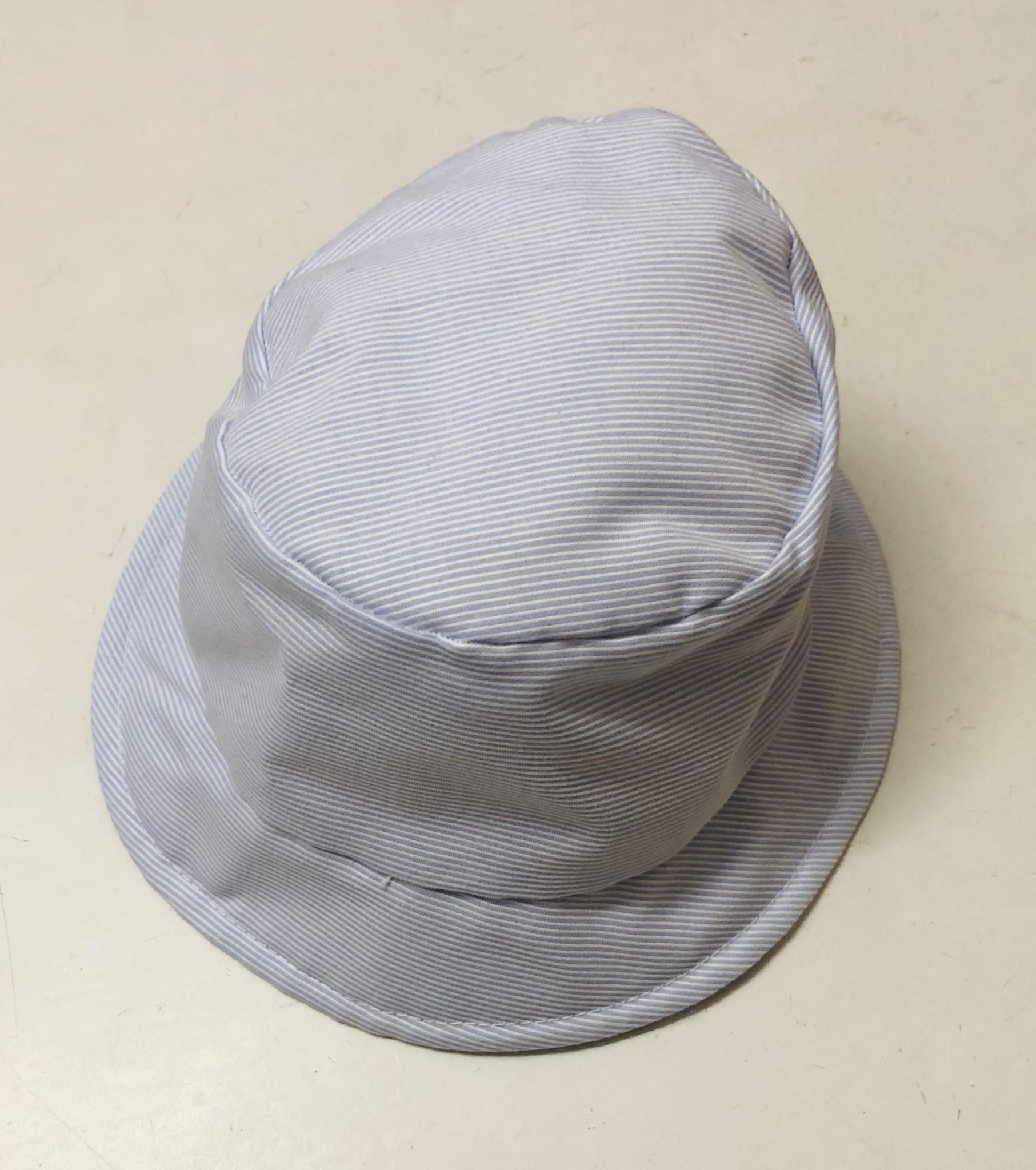 EMC EMC Blue/White Stripe Sun Hat