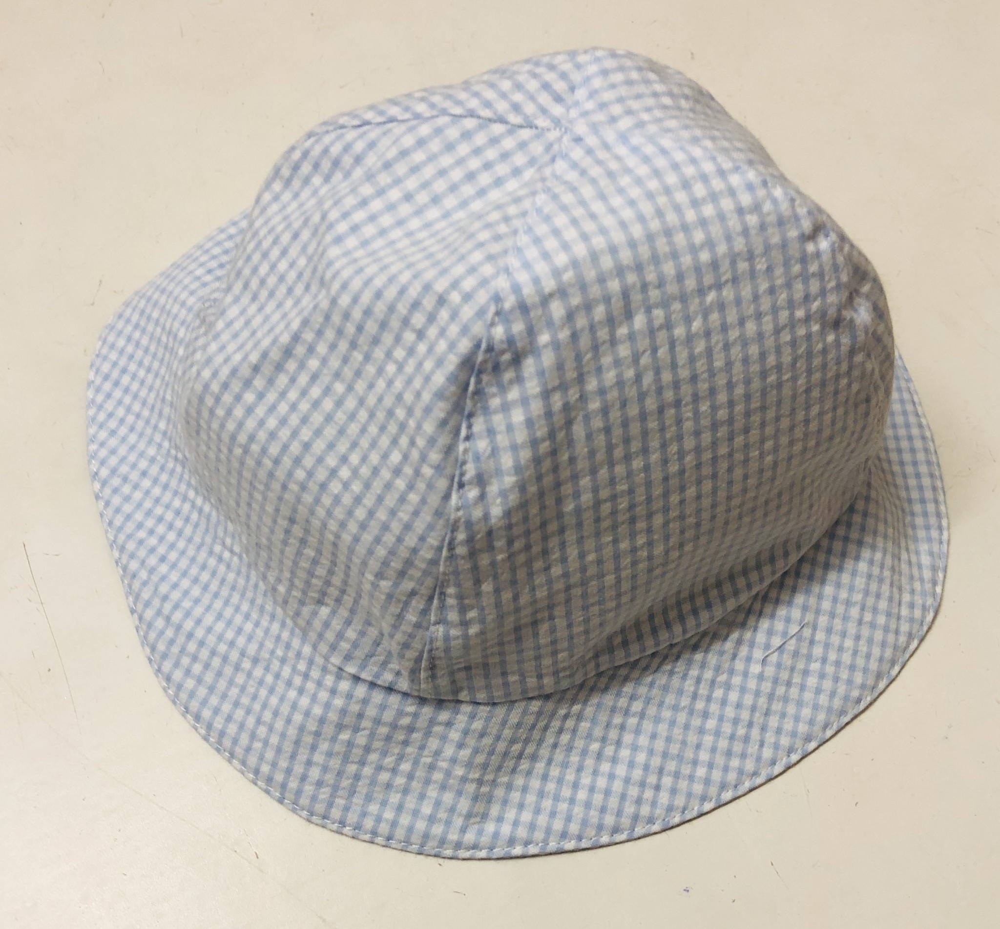 EMC EMC Blue/White Check Hat