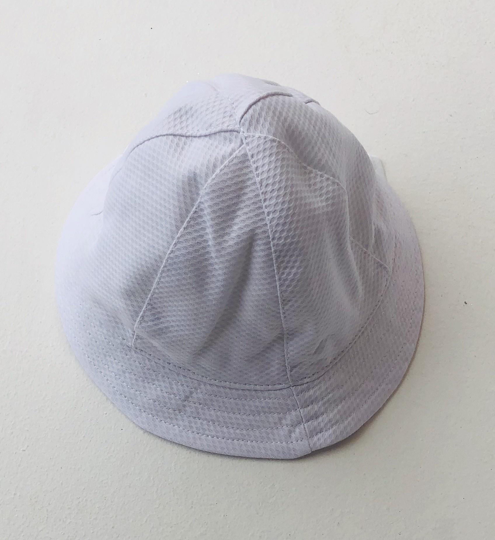 Sardon Sardon Boys White Textured Sun Hat
