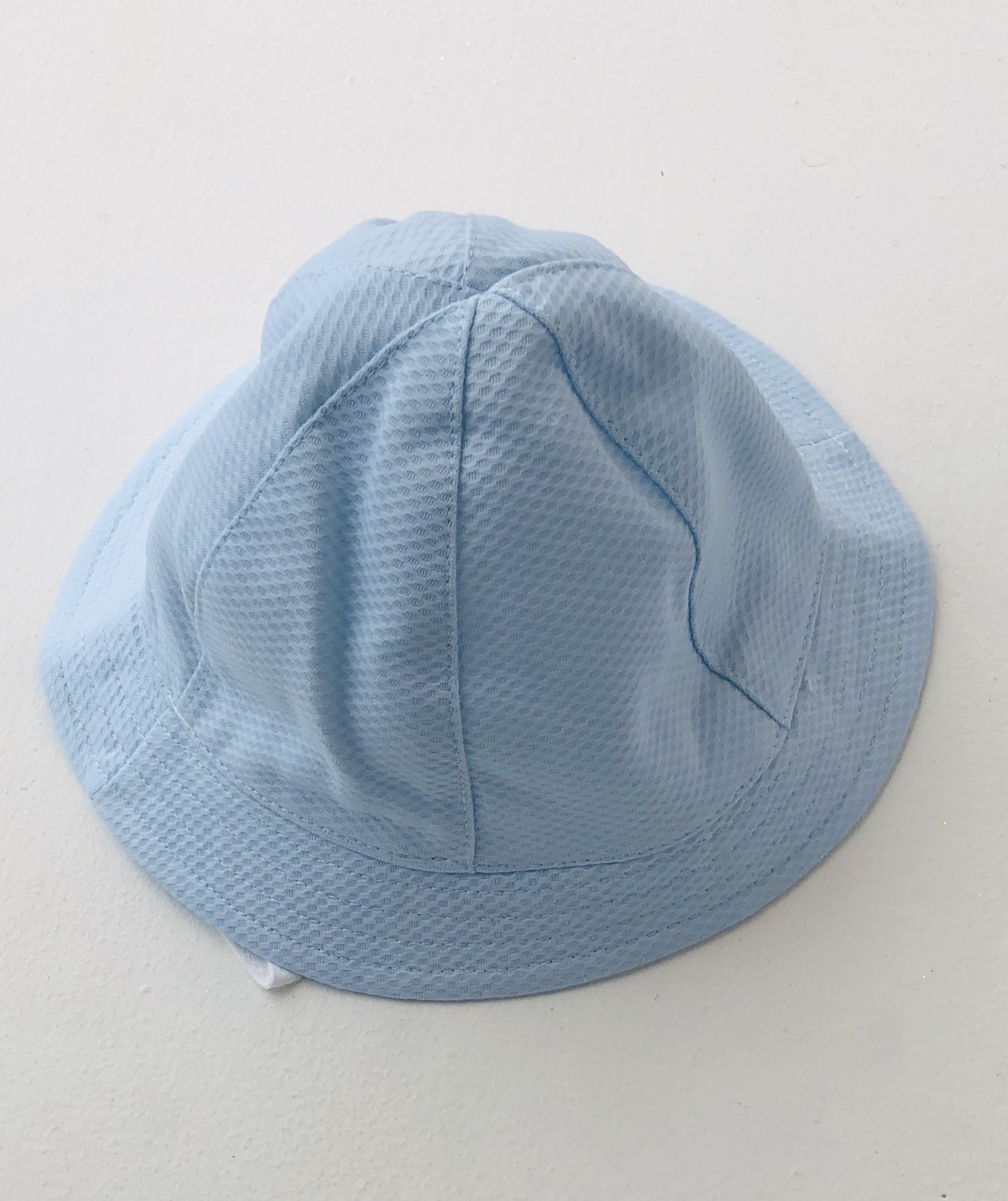 Sardon Sardon Boys  Blue Textured Sun Hat