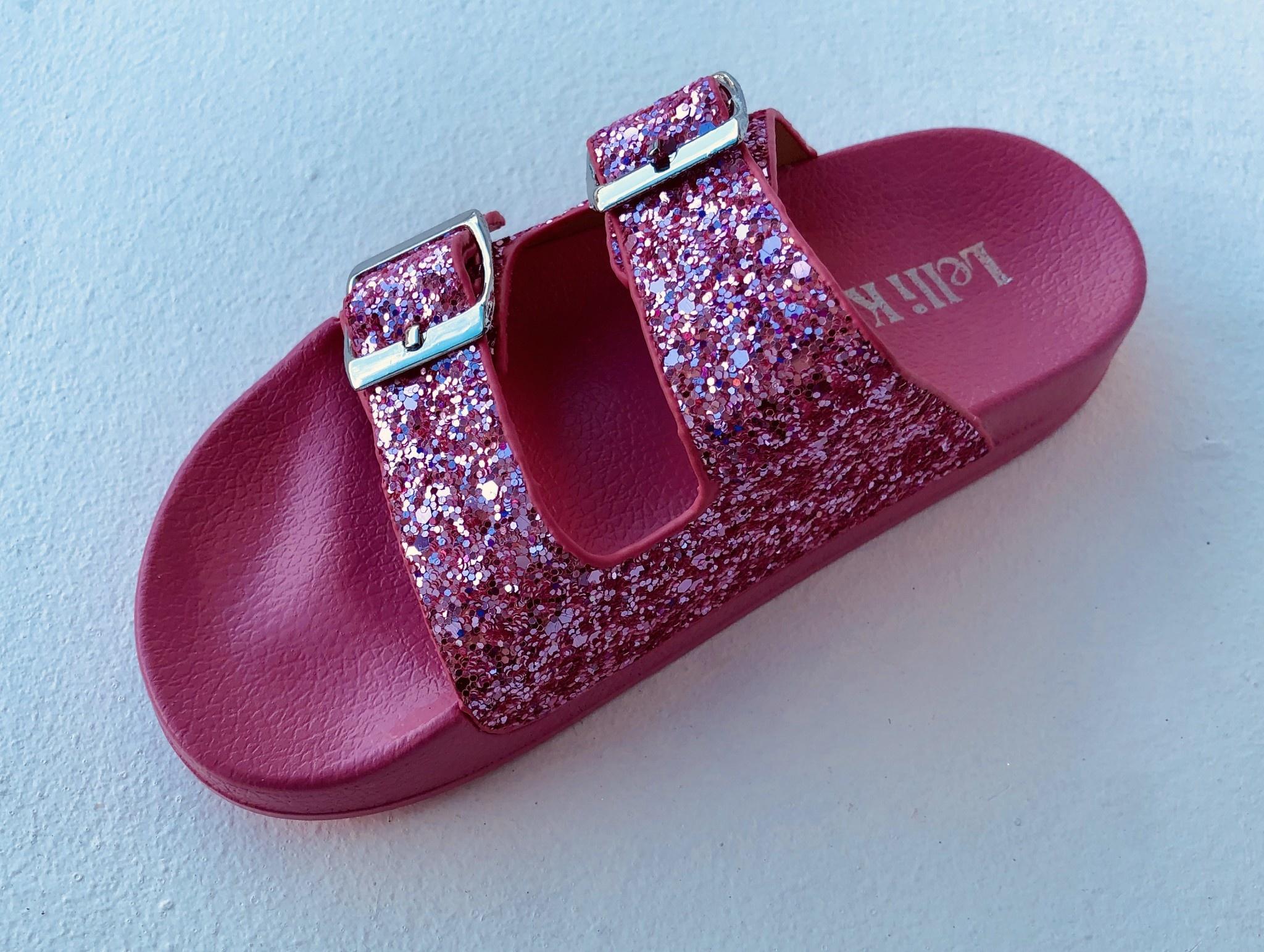 Lelli Kelly Lelli Kelly LK9910 Elga Pink Glitter Sandal