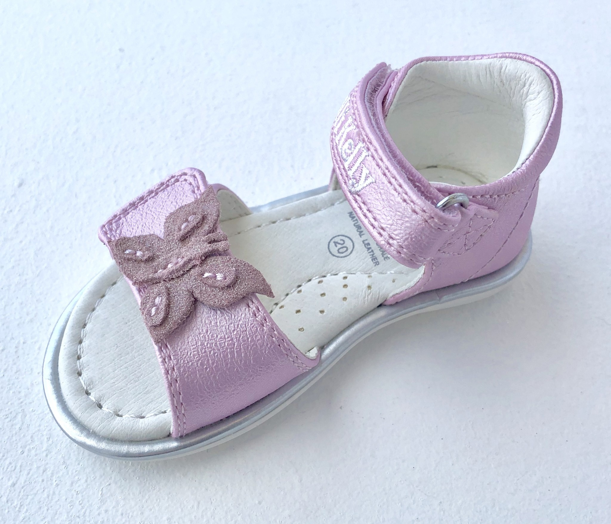 Lelli Kelly Lelli Kelly LK9354 Pink Sandal With Butterfly