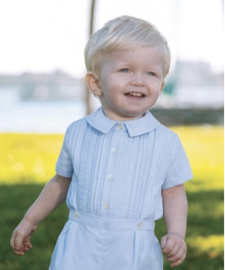 Sarah Louise Sarah Louise 011438 CHRISTENING Buster Romper