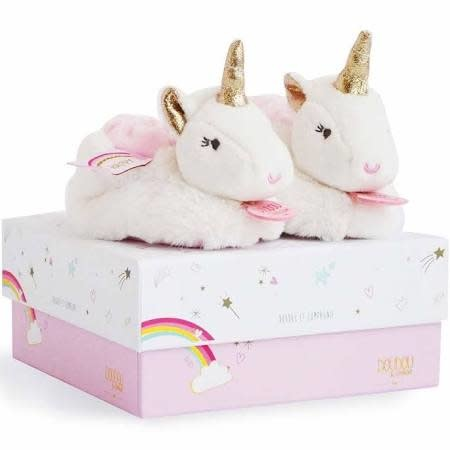 Doudou & Compagnie Unicorn Slippers