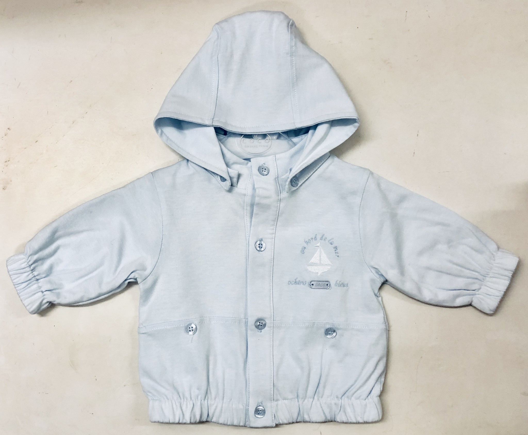 Coco Collection COCO Collection CCS5748 Boys Blue Cotton Jacket