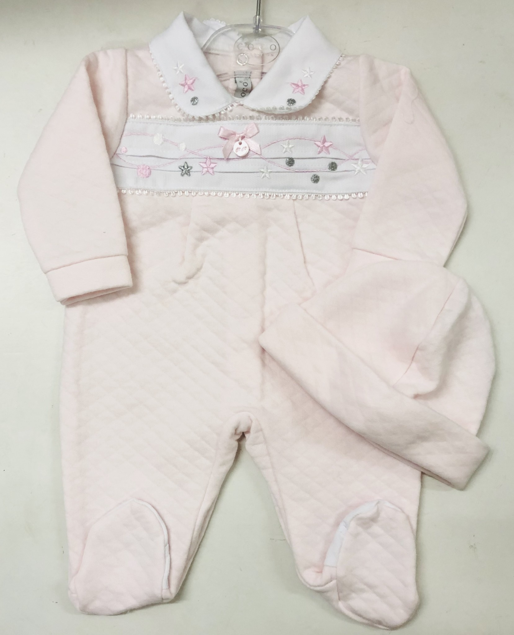 Coco Collection COCO Collection CCS5700 Pink Quilted All in One