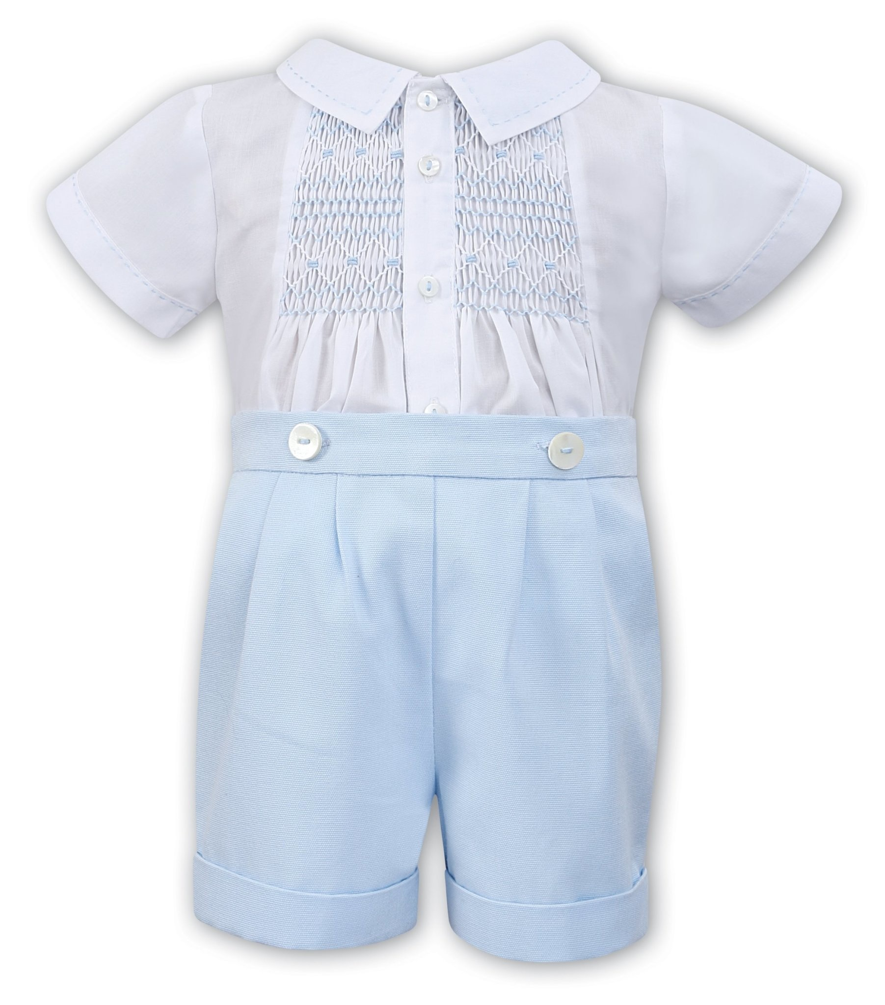 Sarah Louise Sarah Louise Boys Blue Two Piece