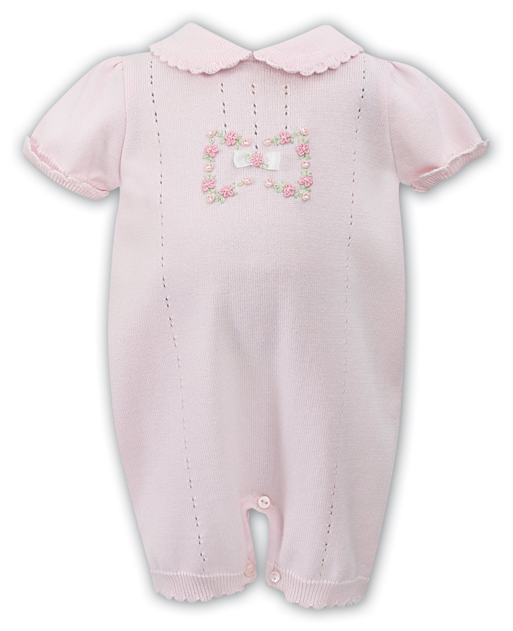 Sarah Louise Sarah Louise Pink Knitted All in One 008072