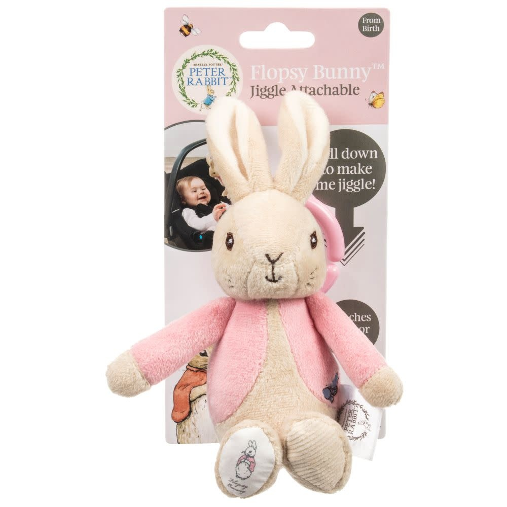 Flopsy Bunny Jiggle Pull Toy