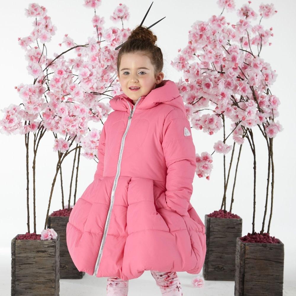 A Dee ADee W191201 Joyce Sweet Pink Padded Jacket