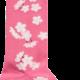 A Dee ADee W191904 Ally Sweet Pink Blossom Socks