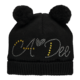 A Dee ADee W192911 Andrea Black Angels Hat