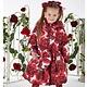 A Dee ADee W194208 Joyce Rose Red Royal Garden Jacket