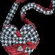 ADee W194915 snow White Heart Bag