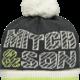 Mitch and Son Mitch & Son Abbot MS1214H Nine Iron Hat