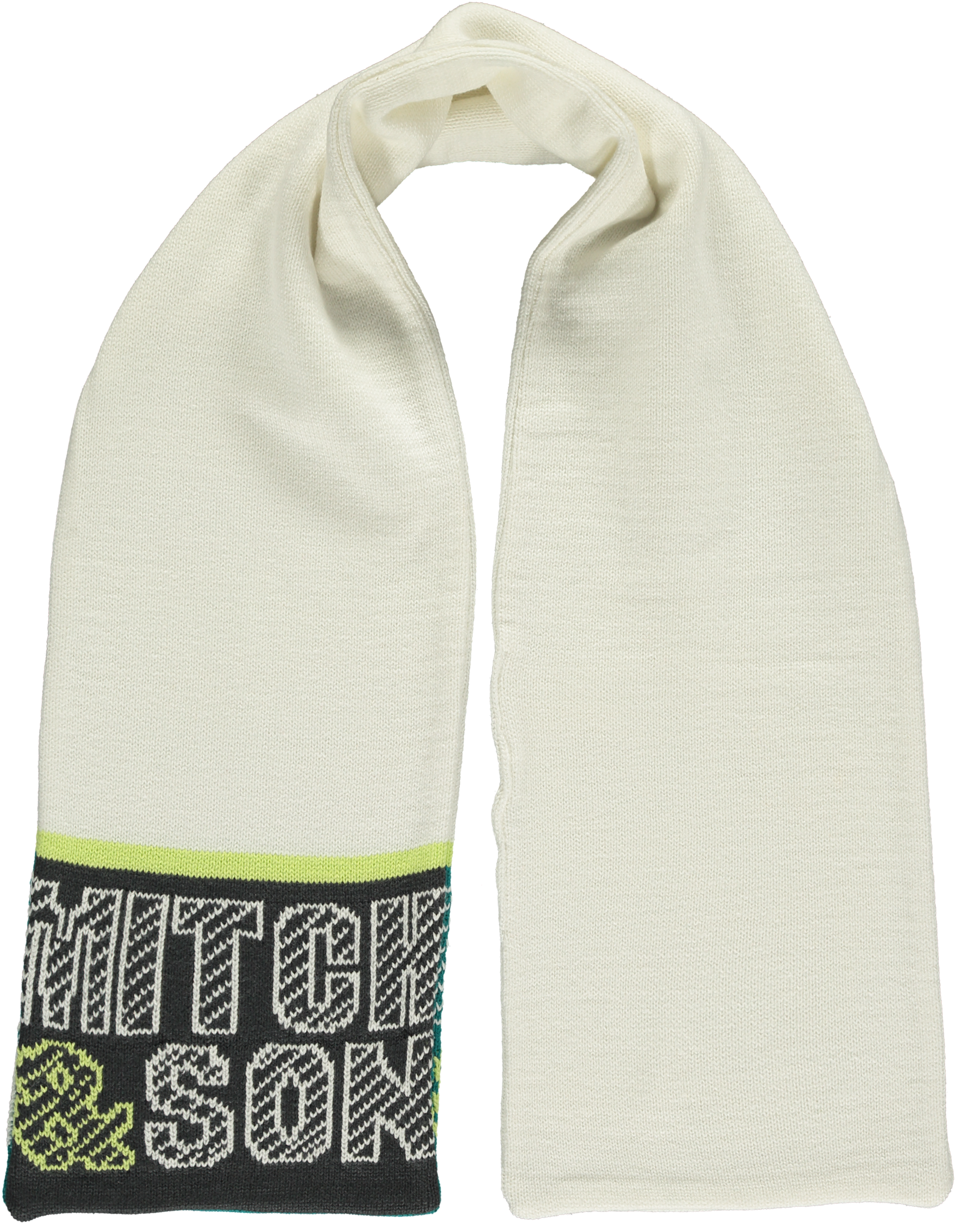Mitch and Son Mitch & Son Abbot MS1214S Winter White Scarf