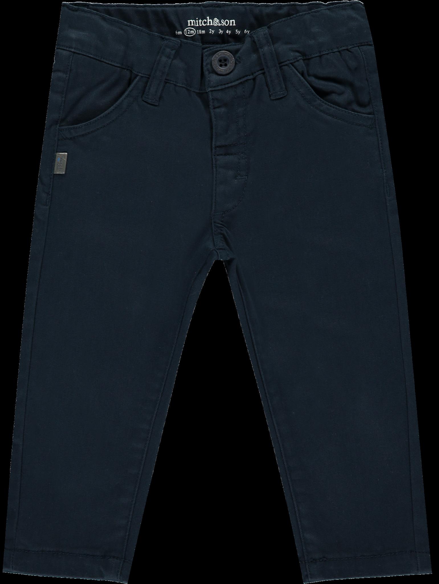 Mitch and Son Mitch & Son Samuels MS1229 Navy Twill Trouser