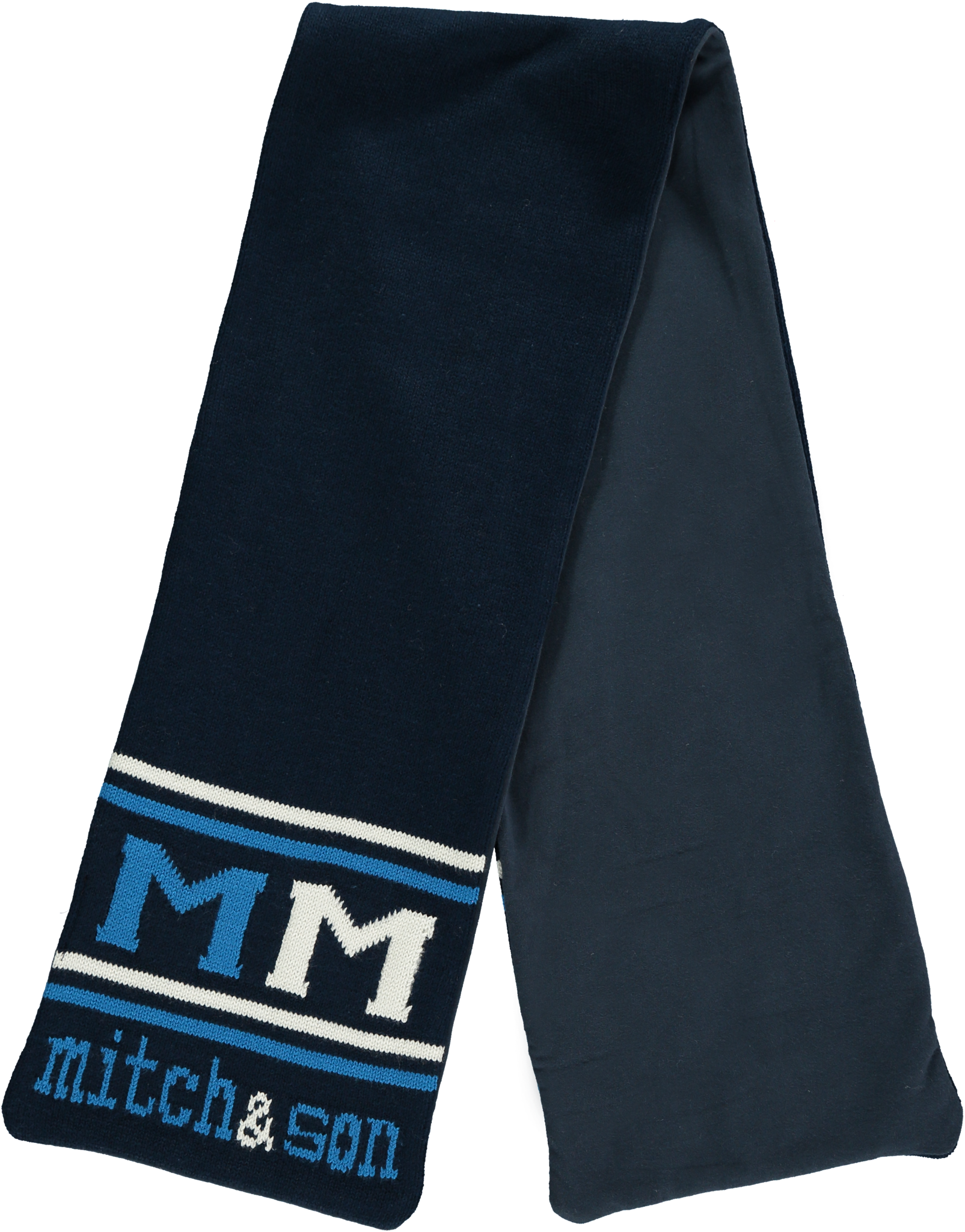 Mitch and Son Mitch & Son Agnew MS1230S Navy Scarf