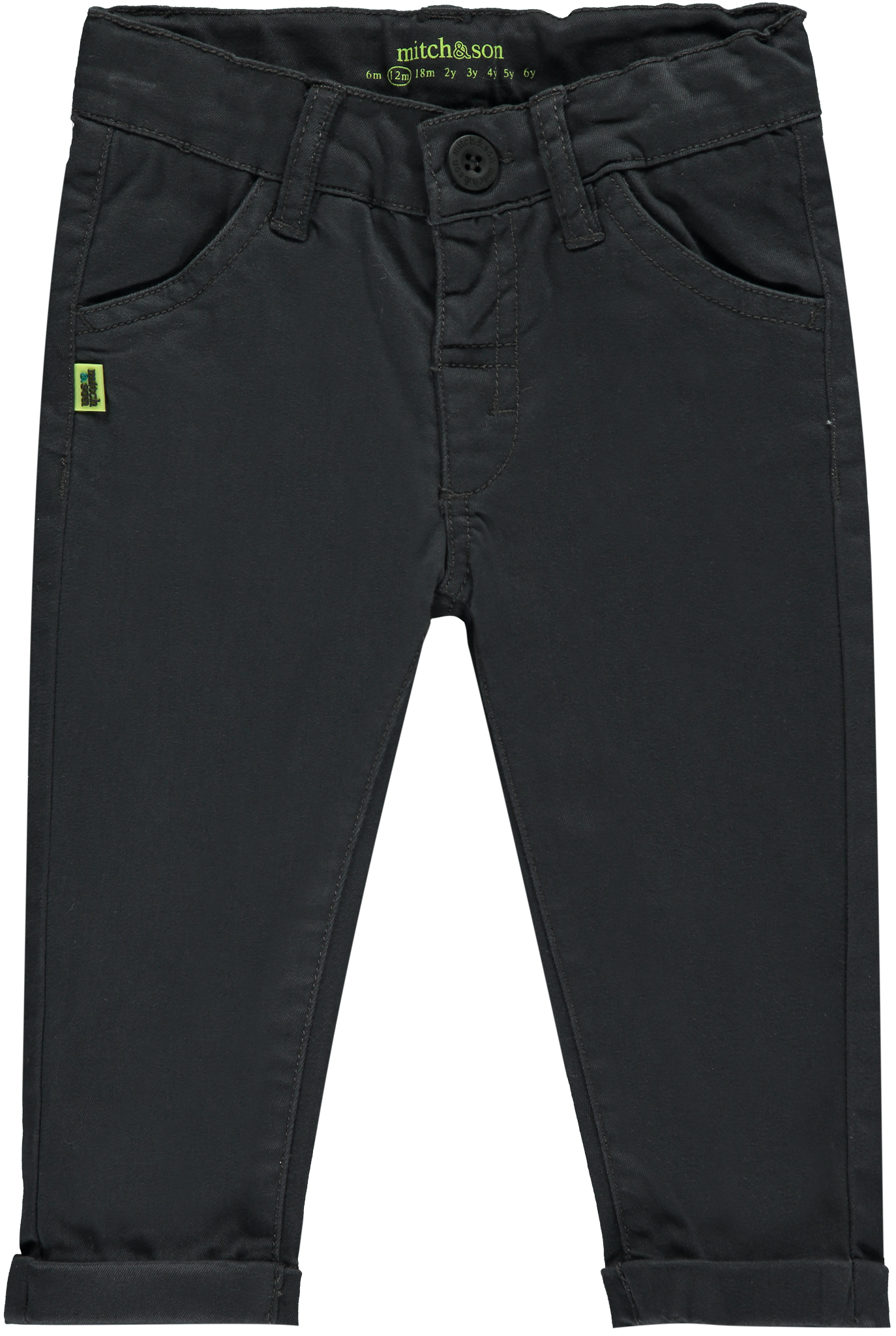 Mitch and Son Mitch & Son Sampson MS1213 Nine Iron Twill Trouser