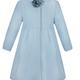 Patachou Patachou Girls Blue Woven Coat