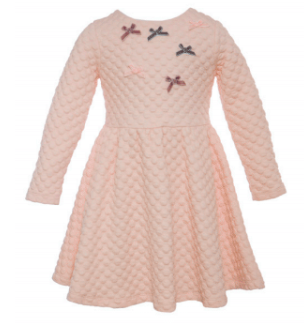 Patachou Patachou Girls Pink Knit Dress
