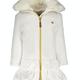 Lechic Le Chic Off White Ruffle Coat