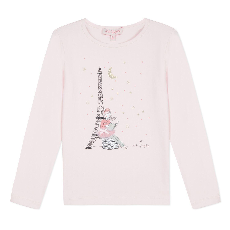 Lili Gaufrette Lili Gaufrette Pink Paris Top