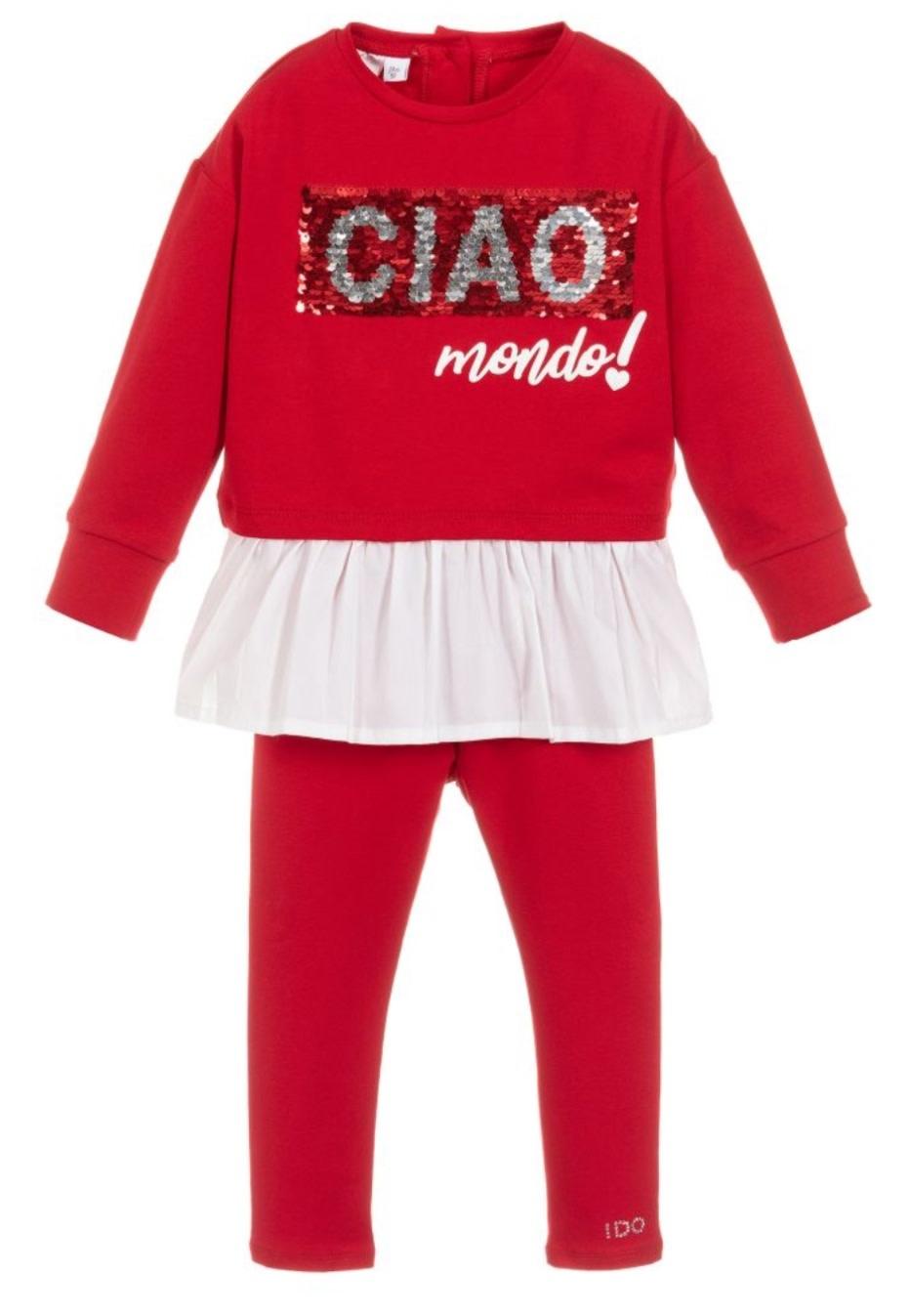 Ido iDO Red Ciao Two Piece Set