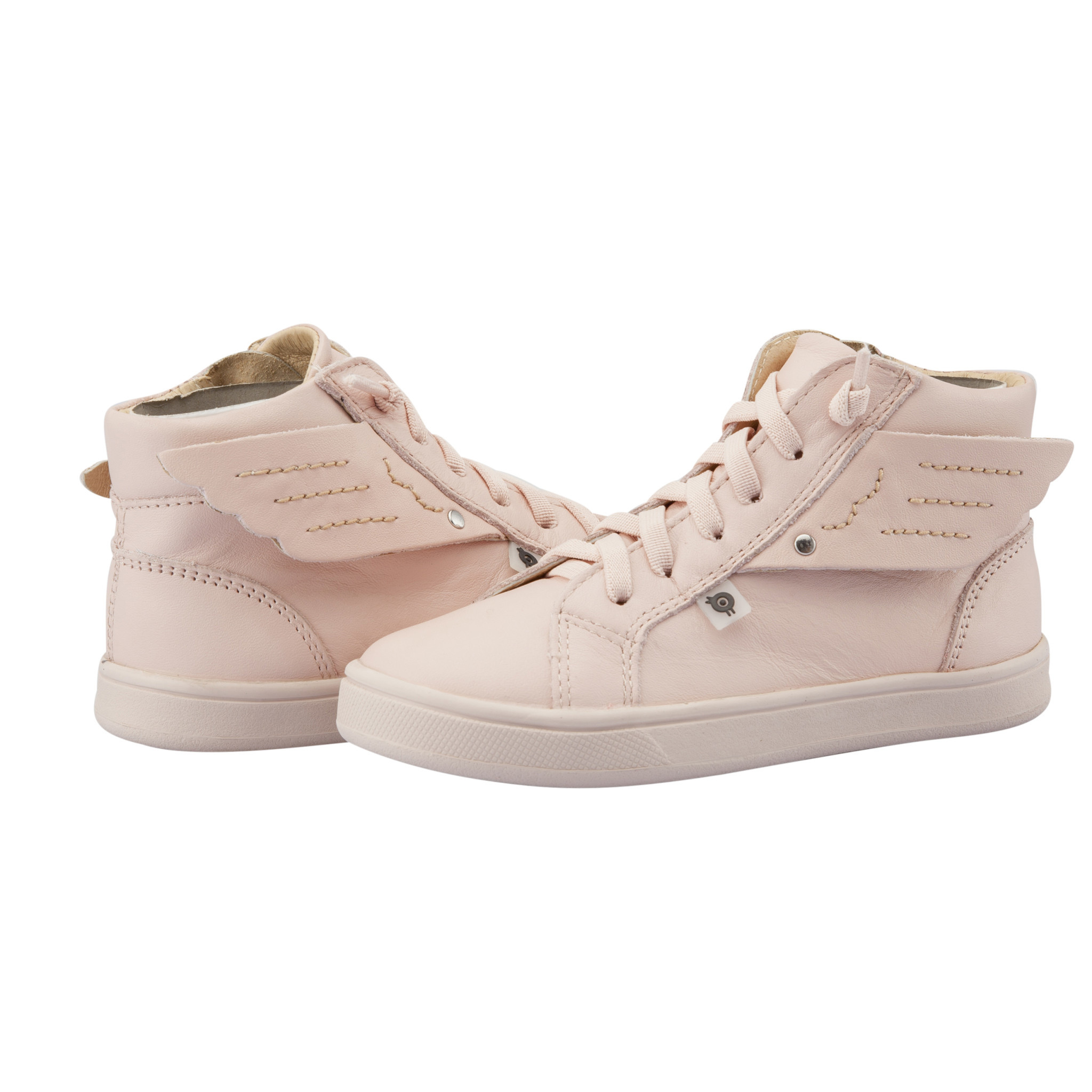 Oldsoles Oldsoles Local Powder Pink High Tops