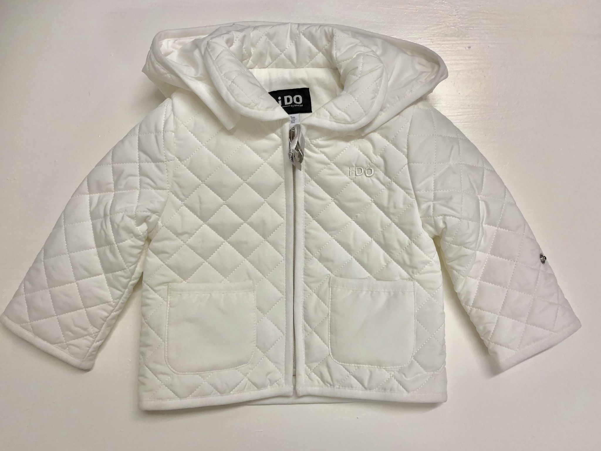 Ido Ido White Quilted Jacket