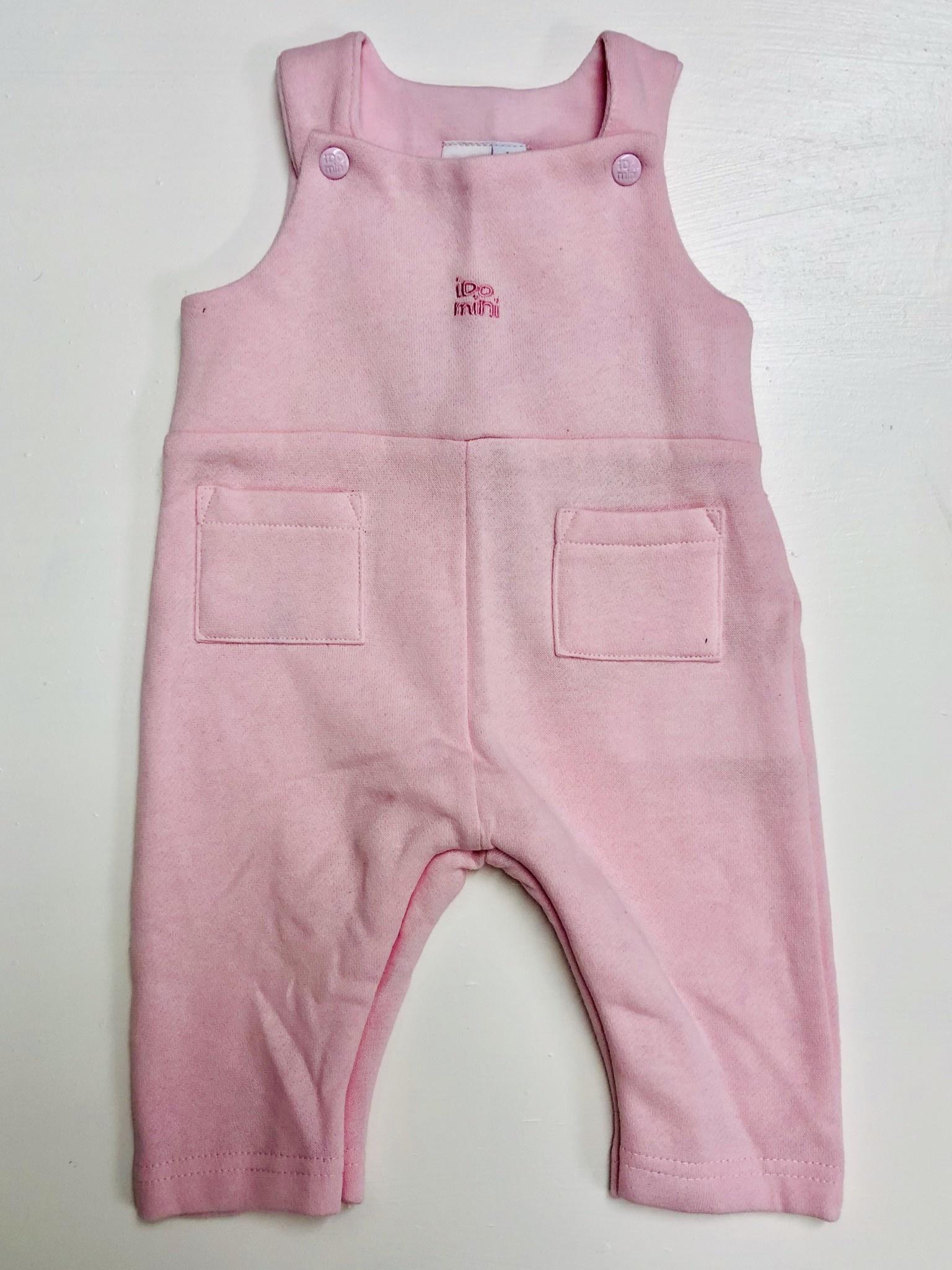 Ido Pale Pink Dungarees