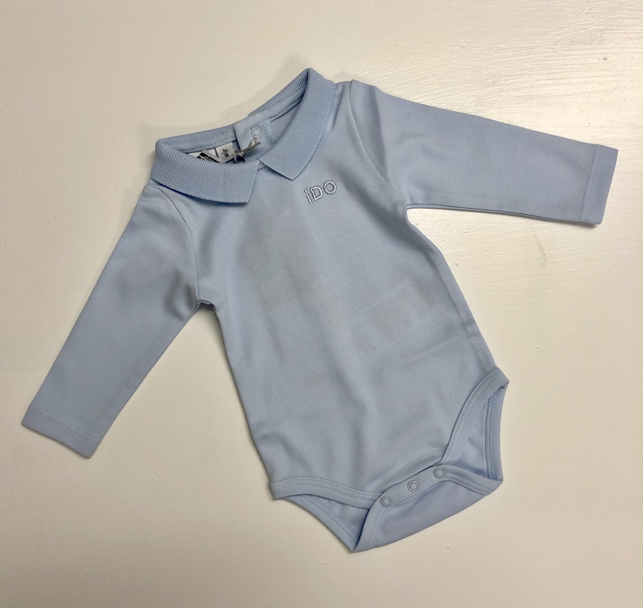 Ido Ido Blue Polo Shirt Body